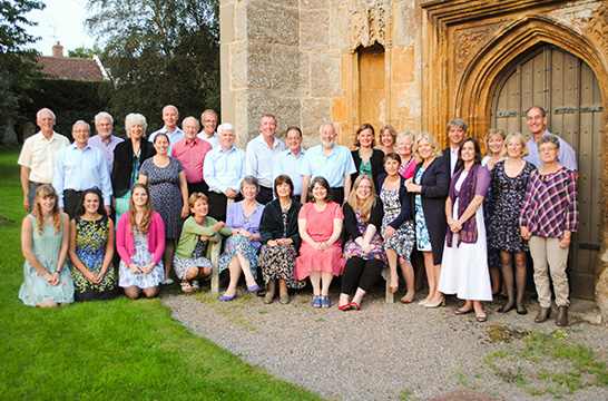 Amici Choir in Taunton group photo